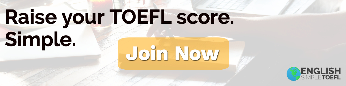 Raise your TOEFL score.